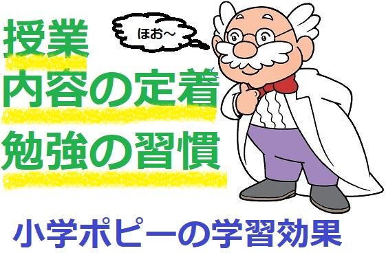 小学生ポピーの口コミ/学習効果