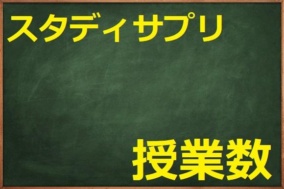 スタディサプリの口コミ/小学講座の授業数