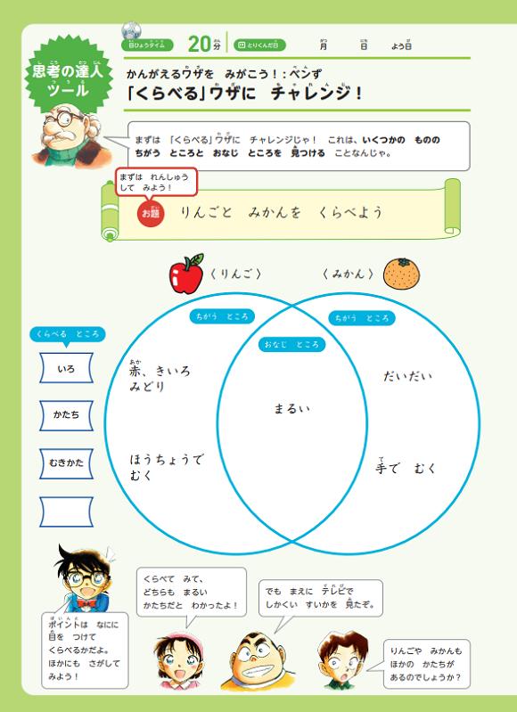コナンゼミの学習効果~推理スキルアップ